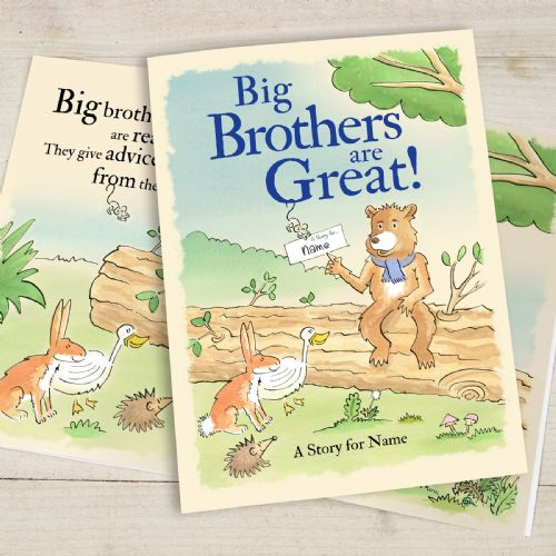 Big Brothers Are Great Softback Book